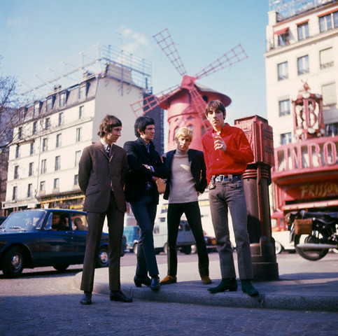 """The Who"" Visit Paris"